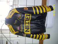 2004 NEXTEL LEATHER JACKET WITH HAT!