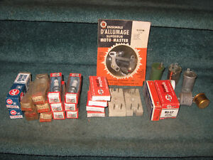 Lot of Assorted Car Stuff Spark Plugs etc - see photos