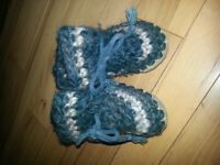 Padraig baby slippers size 5