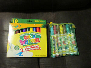 Crayola Colour Wonder Books and Markers