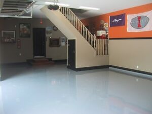Polished Concrete & Epoxy Coated Garage & Basement Floors Kitchener / Waterloo Kitchener Area image 1