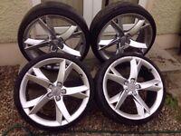"""19"""" Audi A5s Alloys 5x100"""