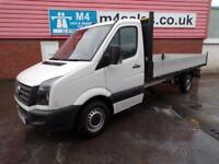 VW Crafter CR35 TDI DROPSIDE 136PS