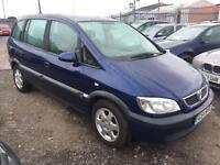 2004/54 Vauxhall/Opel Zafira 1.8i 16v auto Design FULL MOT EXCELLENT RUNNER