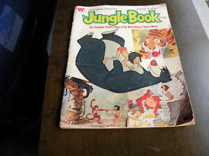 Vintage 1960 Jungle Book Comic