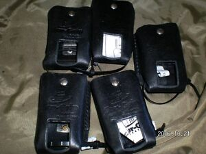 Leather radio cases