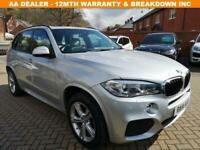 2014 14 BMW X5 3.0 XDRIVE30D M SPORT 5D 255 BHP DIESEL