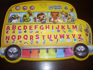 Leap Frog Touch Magic Learning School Bus London Ontario image 1