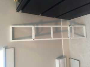 IKEA shelves (white). I have 17 of them 5$ each