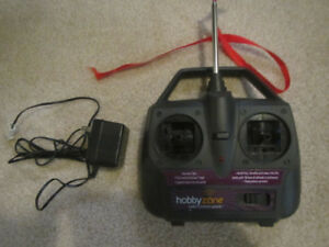 Transmitter for Battery Operated Airplane:  Firebird