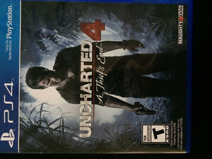 Uncharted 4 ps4 for trade