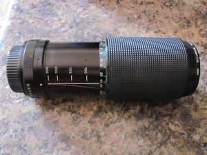 Vivitar 75-300mm Manual Focus Zoom Lens Cornwall Ontario image 1
