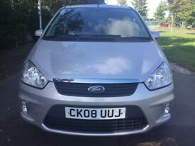 Ford C-Max 1.6I ZETEC 100PS Good / Bad Credit Car Finance (silver) 2008