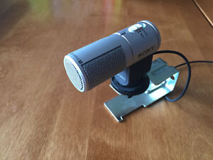 Sony Stereo Zoom camcorder microphone