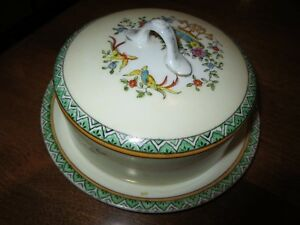 Noritake Hand Painted Cheese/Butter Dish