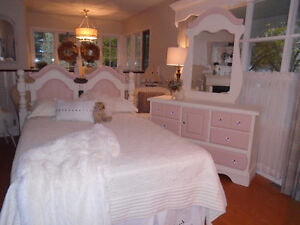 Pretty in Pink Bedroom Set with Bling!
