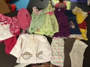 Girls 6m summer clothes Regina Regina Area image 1