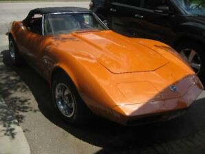 1973 Corvette Convertible L82 with 4 speed