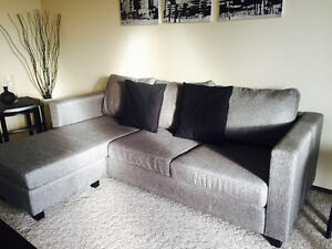 NEW Sectional sofa with reversible chaise - COME & SEE