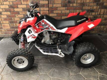 Polaris Outlaw 450 MXR Hillbank Playford Area Preview