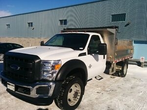 2015 FORD F-550 BOÎTE DOMPEUSE