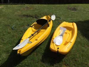 2 Sit on top kayak for sale