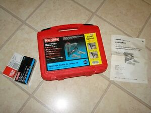 Combination Nailer & Stapler (Pneumatic) Craftsman - 18 gauge