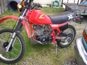Honda xlr 250 great shape