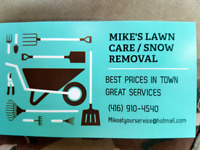 GrassCutting/FallCleanups/SnowRemoval! Vaughan/Maple ETC