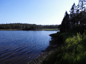 Waterfront lot in Grand River with Ocean view -  Cape Breton