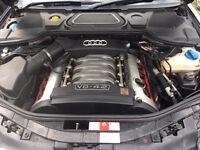 Audi a8 4.2 v8 semi auto