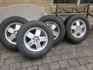Nissan Xterra/Pathfinder/Frontier Winter Tire Package