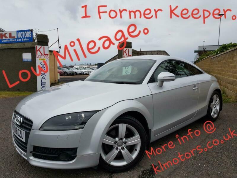 LOW MILEAGE - Audi TT 2 0T FSI Exclusive Line - 1 FORMER KEEPER | in  Kirkcaldy, Fife | Gumtree