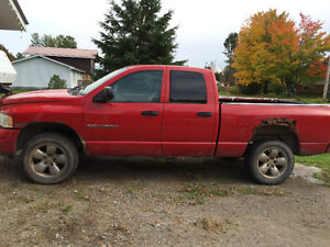 Parting out 04 Dodge Ram 4x4