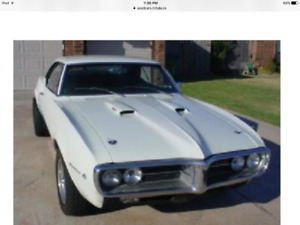 Wanted 1967-1969 Firebird driver or project car.