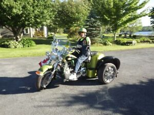 Motorcycle One of a Kind Trike by Mike Slinger of Dartmouth