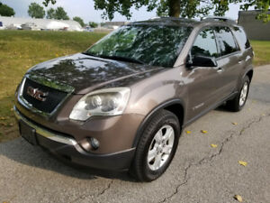 2007 GMC Acadia  All-Wheel Drive  7 Passengers SUV,