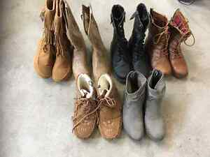 Fashion boots size 6.5 and 7 $25 - $40 a pair