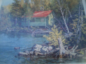 Cottage on Canoe Lake Peter Etril Synder