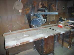 Radial Arm Saw & Table