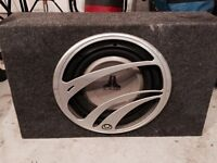 2 - JL 10inch subs and JL amp
