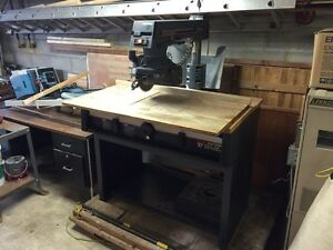 "Craftsman 10"" radial arm saw. Revelstoke British Columbia image 5"