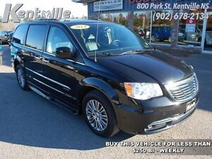 2014 Chrysler Town  Country Touring-L   Savaria wheelchair Carav