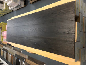 INVENTORY CLEARANCE! OAK FLOORING RUSTIC COCOA WIDE PLANK $3.99