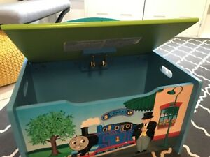 Thomas The Tank Engine Wooden Toy Box