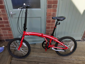 Folding Bike (Python British made)