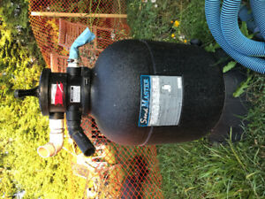 Pool filter and pump