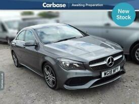 image for 2018 Mercedes-Benz CLA CLA 180 AMG Line Edition 4dr SALOON Petrol Manual