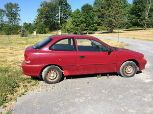 1998 Hyundai Accent Coupe (2 door)