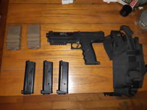 TIPX + 2 MAGS+ 2 MAG HOLDERS+ CONDOR HOLSTER